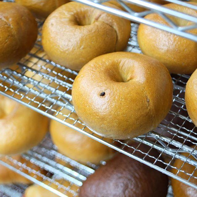 明日6月29日(木)のオススメは、ティラミスベーグルです。落としたてのエスプレッソを生地に練り込んだ、コーヒー風味のベーグルです。少し甘くしたコクのあるクリームチーズとごろっとした大粒チョコチップで、ティラミスの味を再現しています。コーヒーにこだわりのある当店だからこそできる、スイーツベーグルです。チョコやクリームチーズをめいっぱいまでたっぷり詰めているので、時々少し溢れてしまうこともあります。食べる際は十分注意してくださいね☆フレンチトーストは夏も近づいて暖かくなってきたので、衛生面を考えて休止します。また秋頃に。店頭販売分は、当日の朝5:00までメールで取り置きを承っています。ほぼ毎日メルマガやSNS等で、翌日のラインナップをお知らせしています。取り置き方法はこの記事の最後にお知らせしています。遠慮なくお申し付けくださいね☆#ベーグル照り焼きチキンプレーンドッグ全粒粉とカマンベールティラミスWチョコクランベリーWアップルプレーン #スコーン塩バニラ抹茶ホワイトチョコキャラメルピーカンナッツカフェモカレモンクリームチーズ[新商品]パルメザントマトバジル6個入りスクエアスコーンオレンジホワイトチョコやかぼちゃなど、このセットだけのフレーバーが入っています。詳しくは店頭のポップをご覧ください。#マフィンフレッシュオレンジとカスタードクリームのマフィンそのままでも食べられますが、暑くなってきたこの時期は冷蔵庫で冷やして食べると、よりおいしいです。マフィンは他の商品に比べ、製造数が少な目です。事前に分かっているようでしたら、ご予約か取り置きをお願いします。開店前に焼いて、出来立てをお渡しします。メニューは全て日替わりです。気になる商品はご予約や取り置きいただければ、1個からご用意します。全て手作業のため、多めに必要でしたらお取り置きメールをご利用ください。明日も焼きたてのベーグルと美味しいコーヒーを用意して、皆様のお越しをお待ちしております。#ベジーベーグルアンドエスプレッソ#ベーグル専門店#スコーン専門店#エスプレッソ#富士市店頭販売のお取り置き方法についてはこちらからhttps://veggiebageles.com/otorioki/明日6月29日(木)の取り置き注文は、本日6月28日(水)ただ今17:20から6月29日(木)の朝5:00まで受け付けております。翌日のラインナップをメールマガジンで皆さんの携帯電話にお届けしています。登録はこちらからhttps://veggiebageles.com/mailmag/ ============================== Veggie Bagels&Espresso〒416-0951富士市米之宮町109 1FTEL 0545-30-8637 /FAX 0545-30-8634Instagram  https://www.instagram.com/veggiebagels/Facebook  https://facebook.com/VeggieBagelsEspresso ==============================